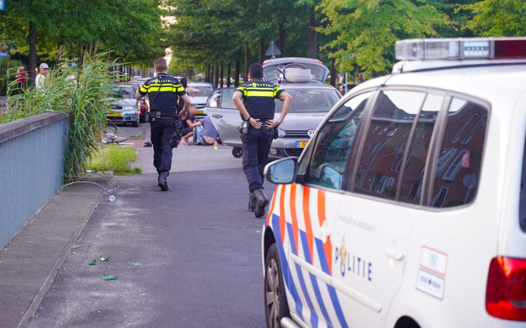 Wederom ongeval tussen fietser en auto Laan van Avant-Garde Rotterdam
