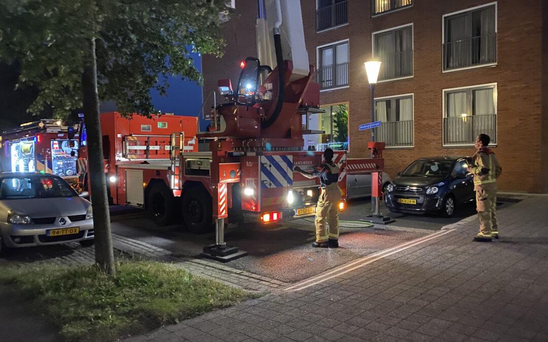 Smeulende sigaret zorgt voor brandweer inzet Hodenpijlstraat Zoetermeer
