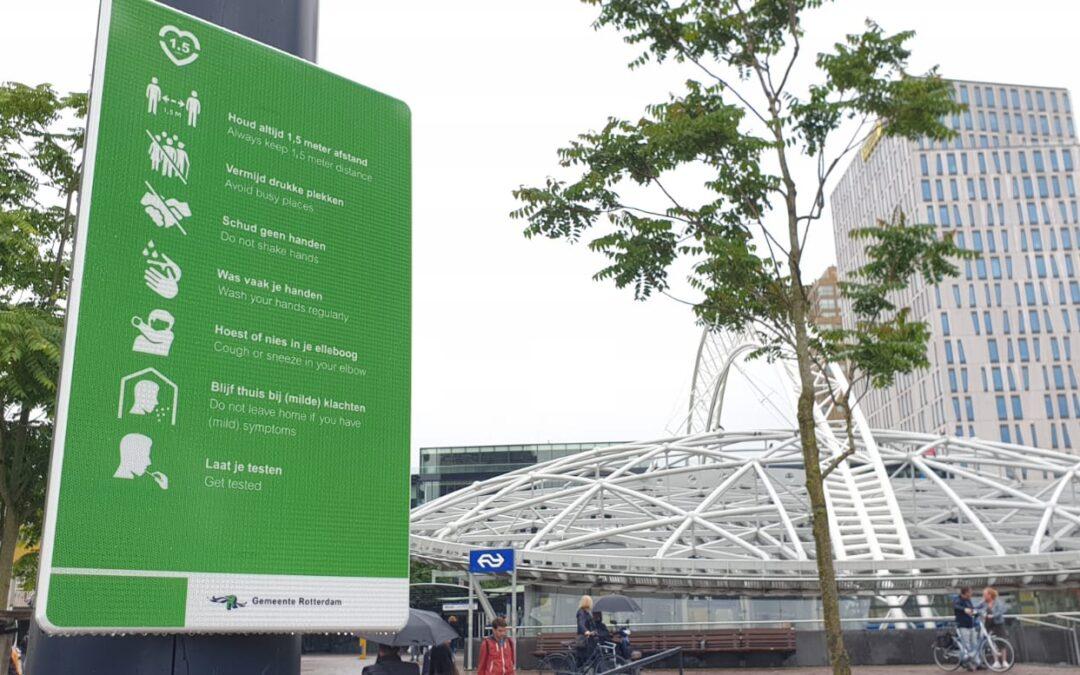 Herinnering: Vanaf morgen mondkapjesplicht in onder andere Rotterdam
