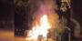 Twee auto's op Essenburgsingel in Rotterdam verwoest na brandstichting