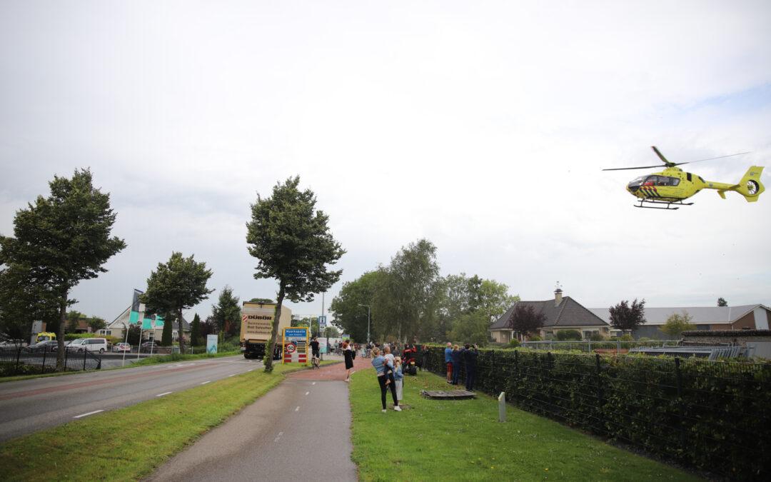Zwaargewonde na vermeende instorting bij kwekerij aan Bredeweg in Moerkapelle