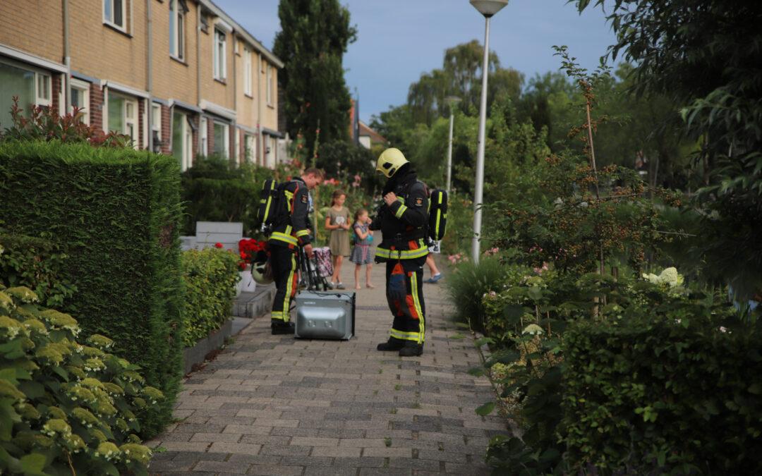 Combi-oven zorgt voor brand in keuken Goudseweg Stolwijk