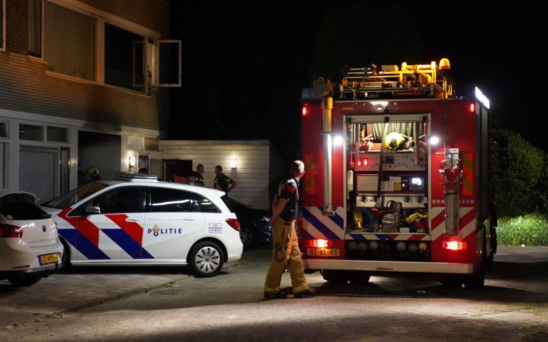 Verdachte omstandigheden bij woningbrand Waldeck-Pyrmontstraat Zoetermeer