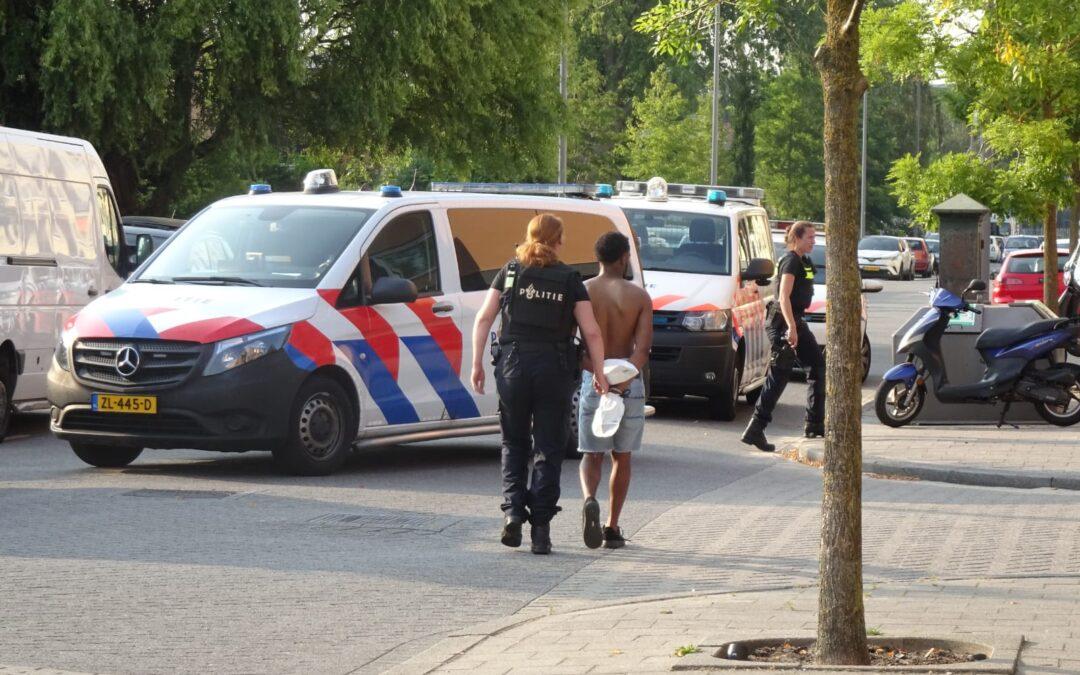 Drie aanhoudingen na schietpartij vanuit woning Emelissedijk Rotterdam