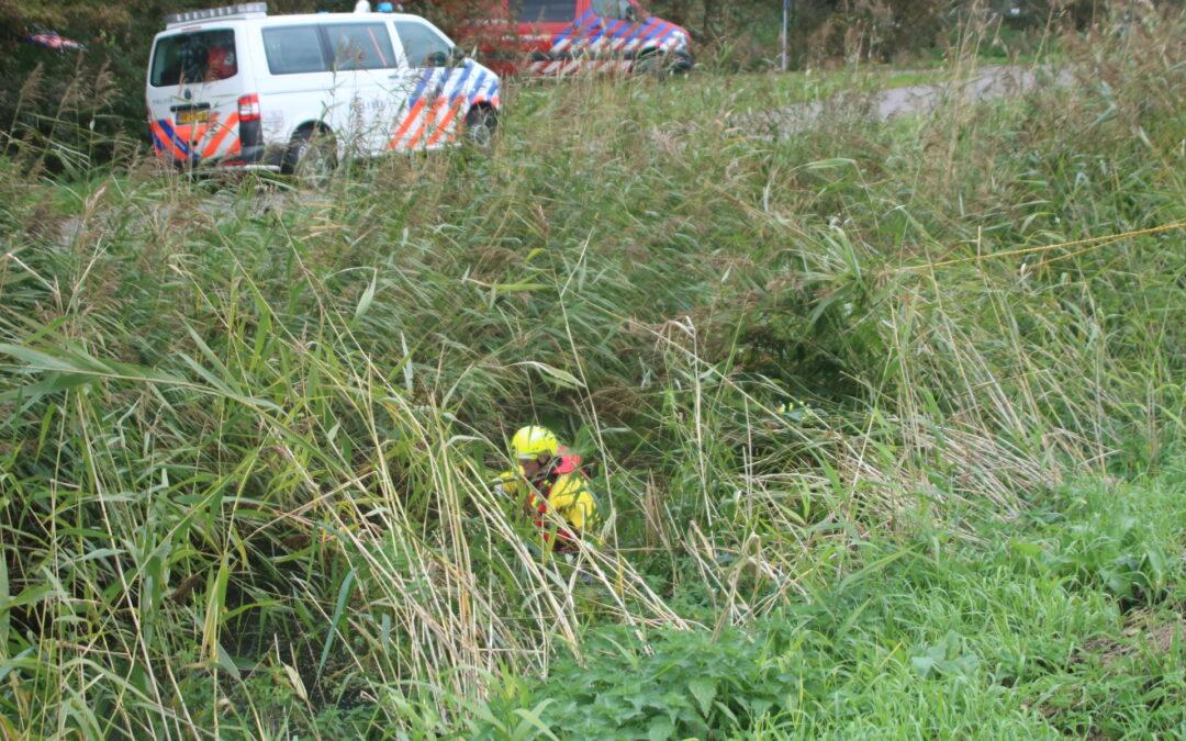 Grote zoekactie naar persoon in Zwartewaal; Persoon aangetroffen op camping