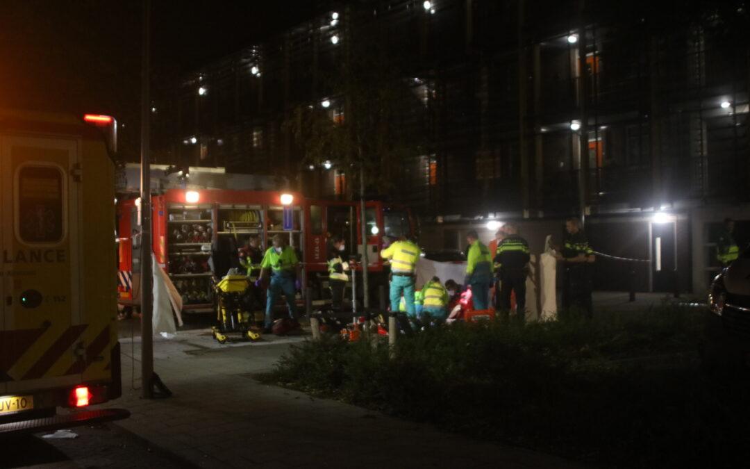 Persoon overleden na steekpartij op Laan van Nieuw Blankenburg in Rozenburg
