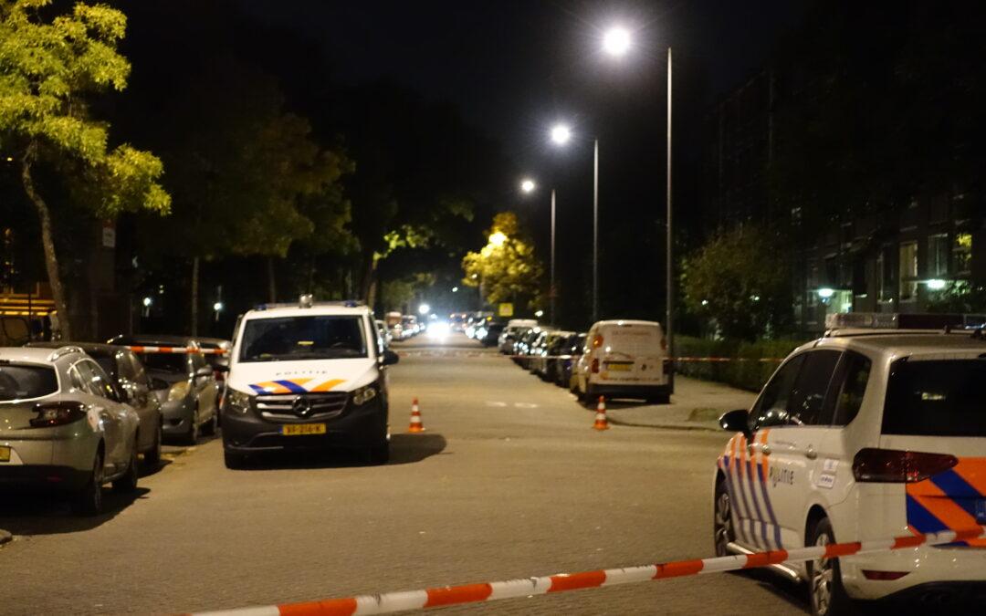Politie onderzoekt schietpartij Vegelinsoord Rotterdam
