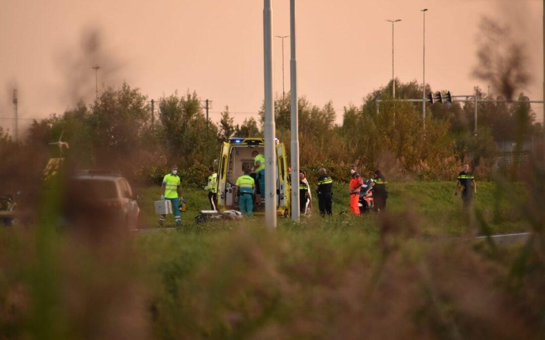 Motorrijder gewond na valpartij N470 Pijnacker