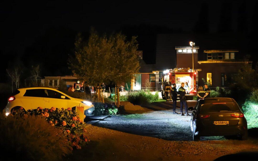 Brandje in versnipperaar Zwarteweg Waddinxveen