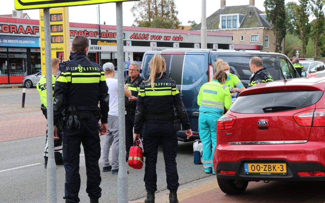 Persoon zwaargewond na aanrijding Kanaalweg Capelle aan den IJssel