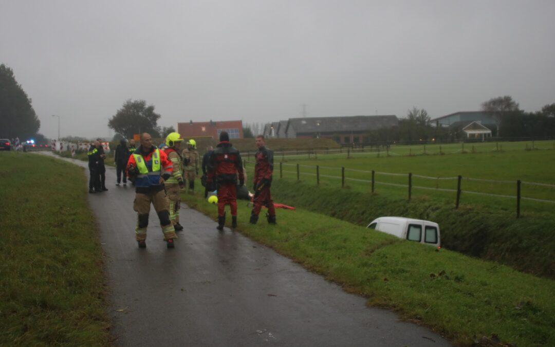 Man zwaargewond na éénzijdig ongeval Stationsweg Zuidland