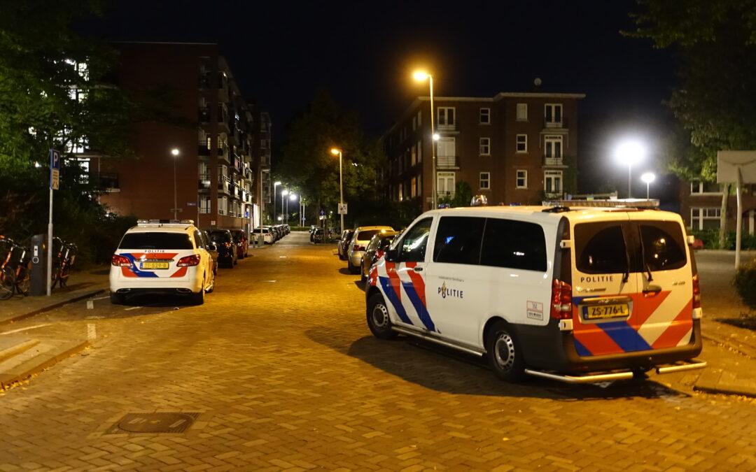 Woning overvallen op Dr. de Visserstraat in Rotterdam
