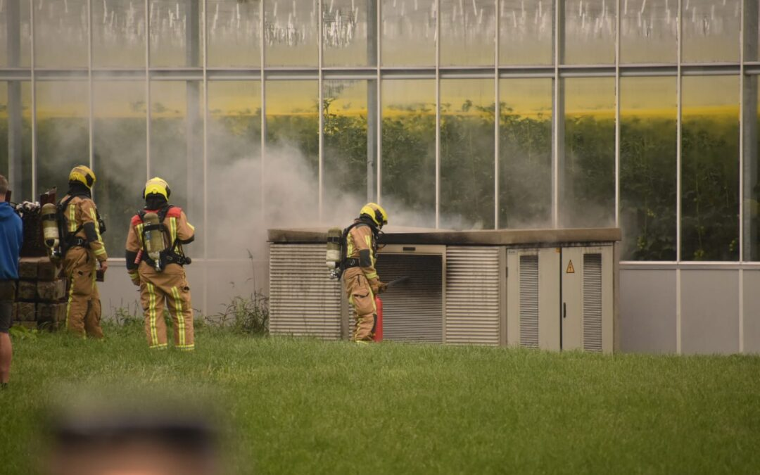 Brand in elektrakast Noordeindseweg Berkel en Rodenrijs